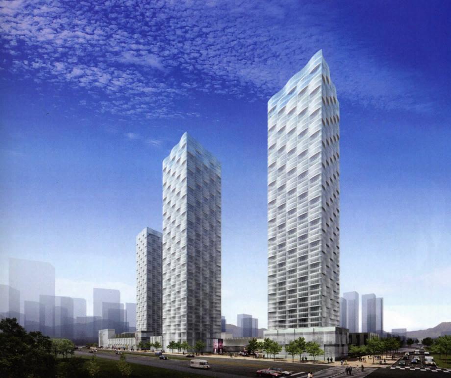 ©2008, Miles Walker, New Songdo Towers