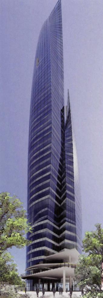 ©2008, Miles Walker, Office Tower Design