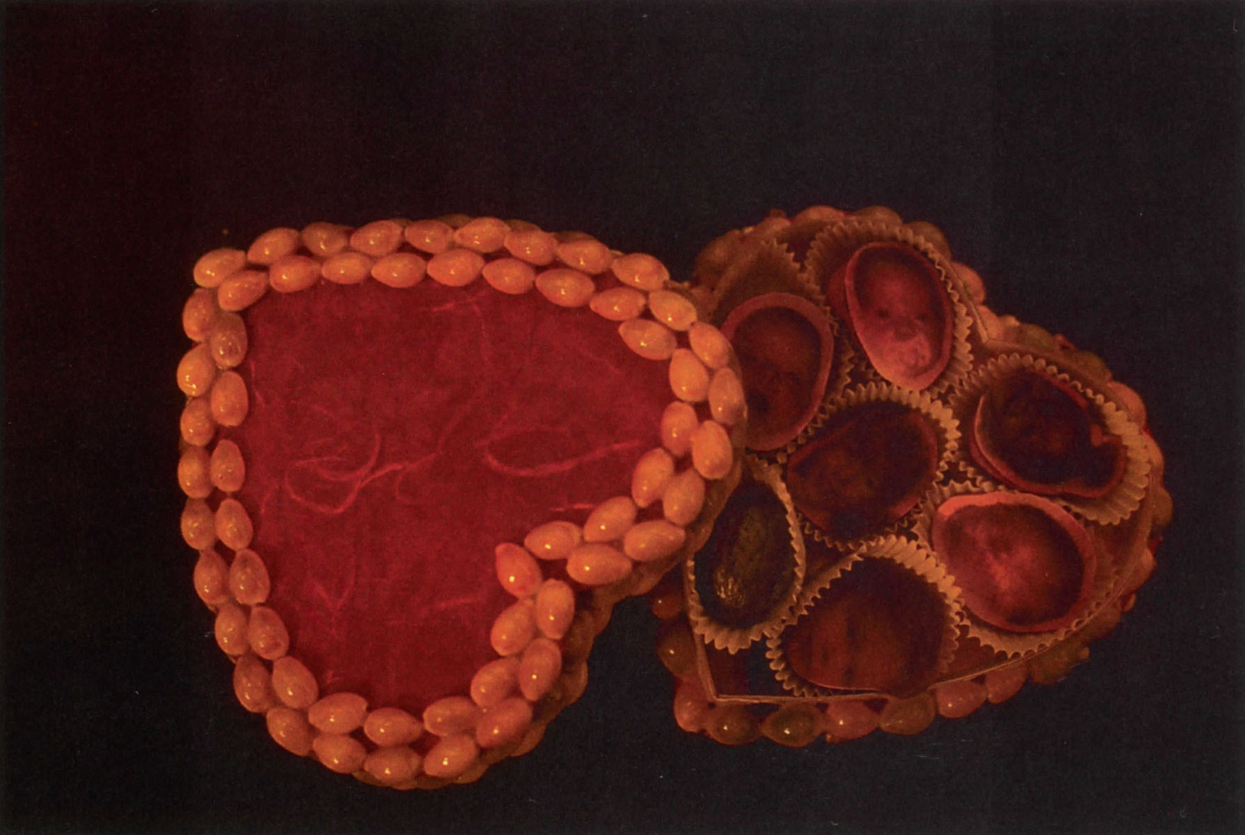 ©1995, Niki Nolin, Candy Box - In Progress