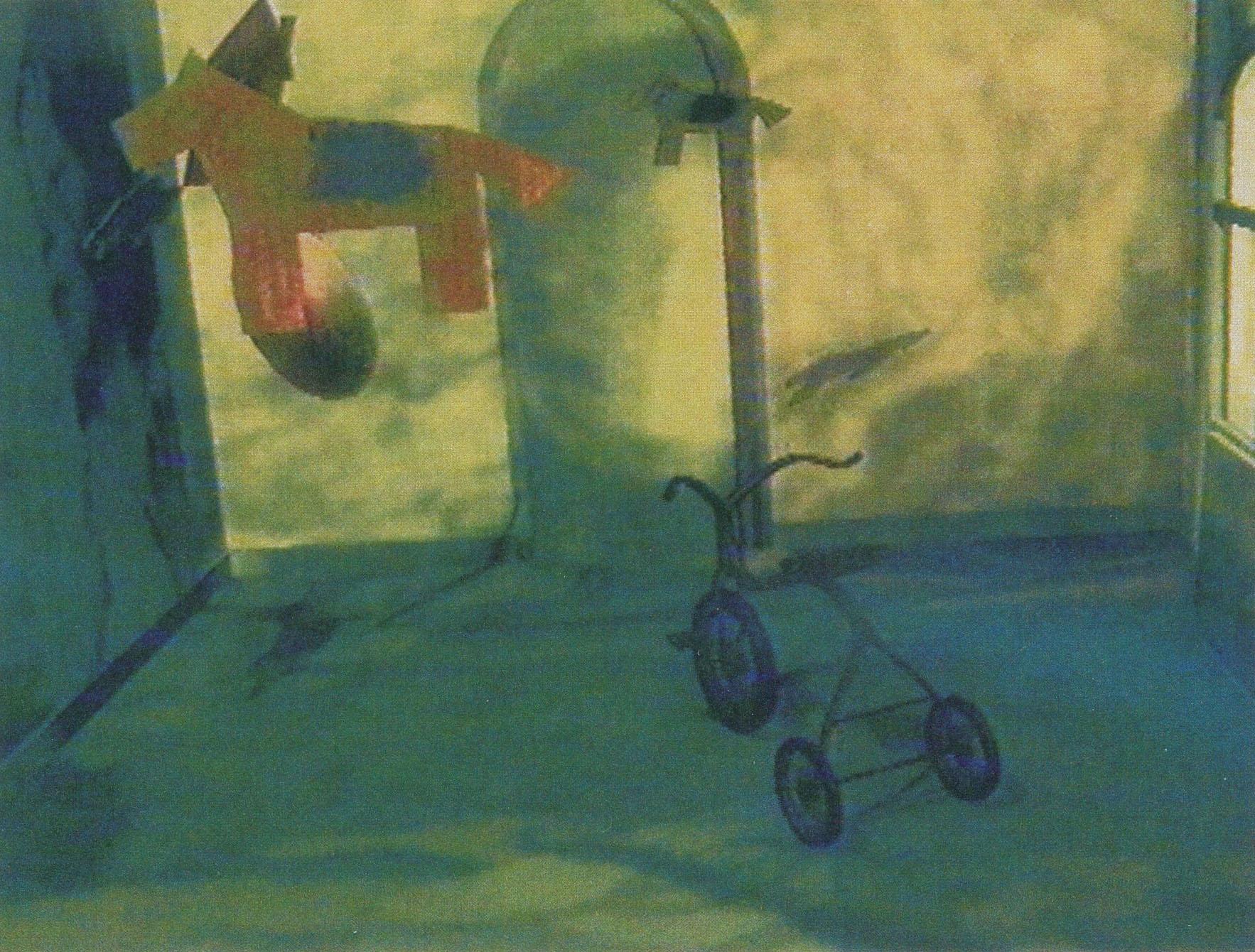 ©1994, Xavier Casadesús, Broken Childhood
