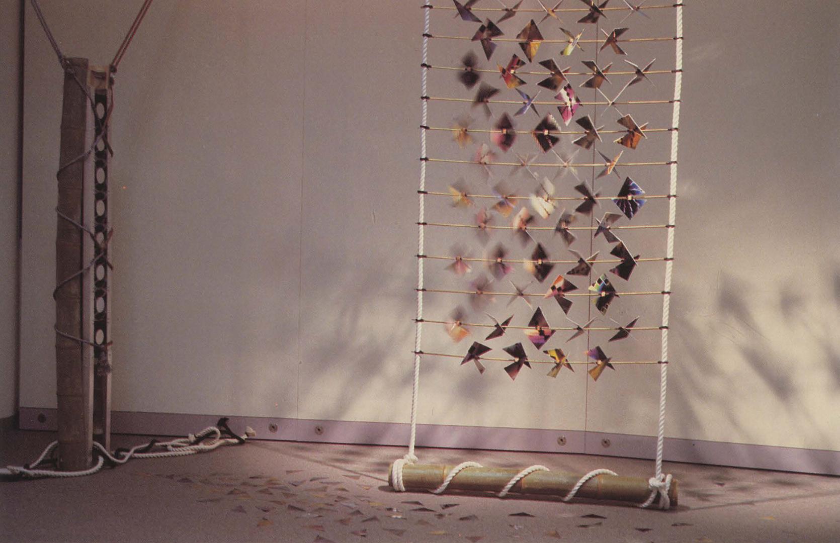 ©1992, Michiko Shiobara and Ryoichiro Debuchi, Kazaguruma (Pinwheels of Schrodinger)