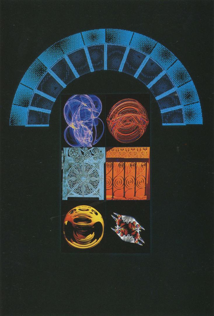 ©1989, Ellen Sandor, Chaos/Information as Ornament/A Tribute to Louis Sullivan