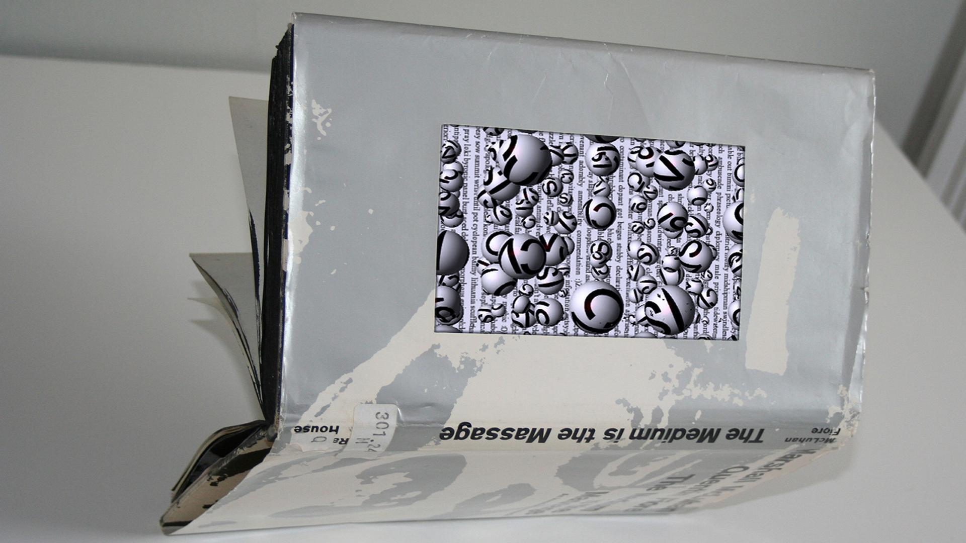 ©2010, Joseph Farbrook, Boolean Image Video Sculpture
