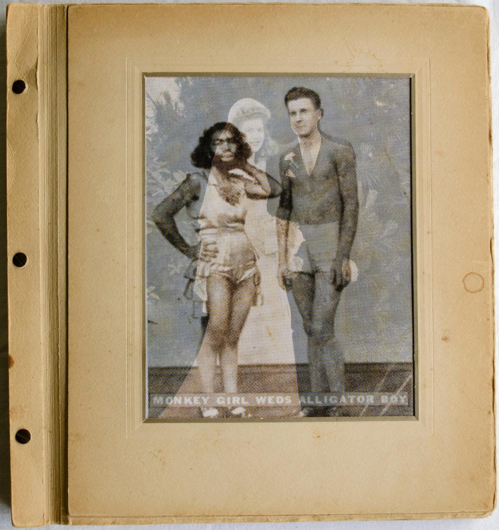 ©2014, Colette Gaiter, Monkey Girl Meets Alligator Boy