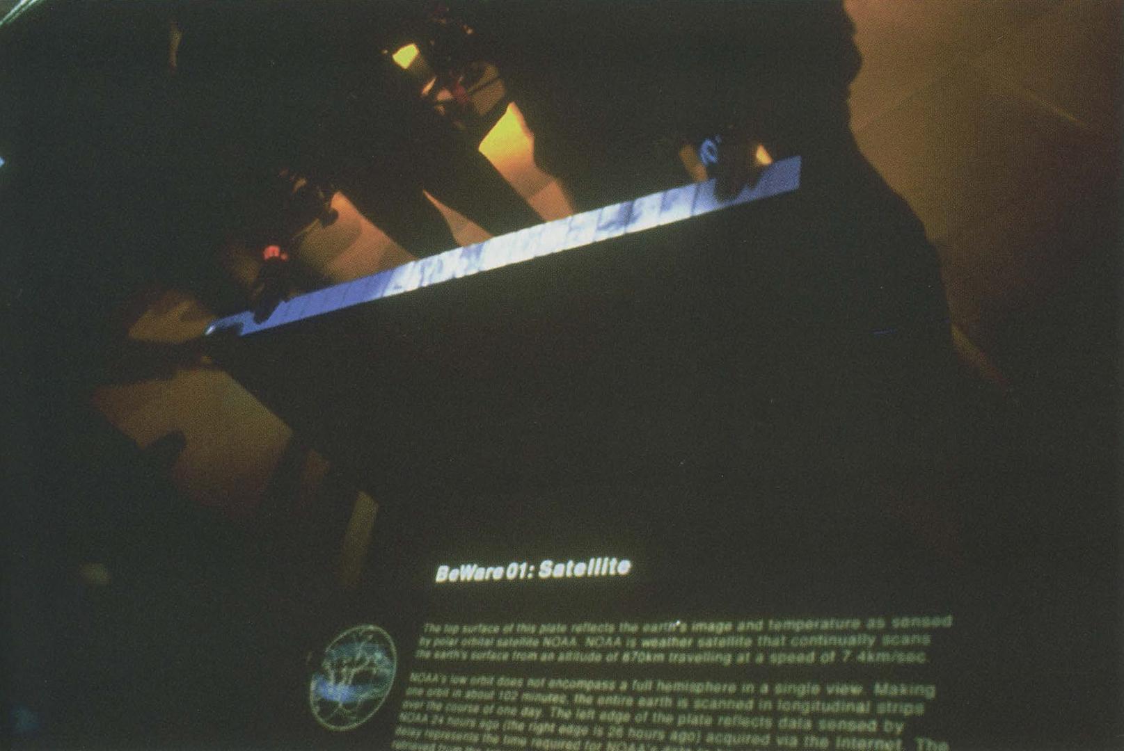 ©1997, sensorium/BeWare02, BeWare02:satellite