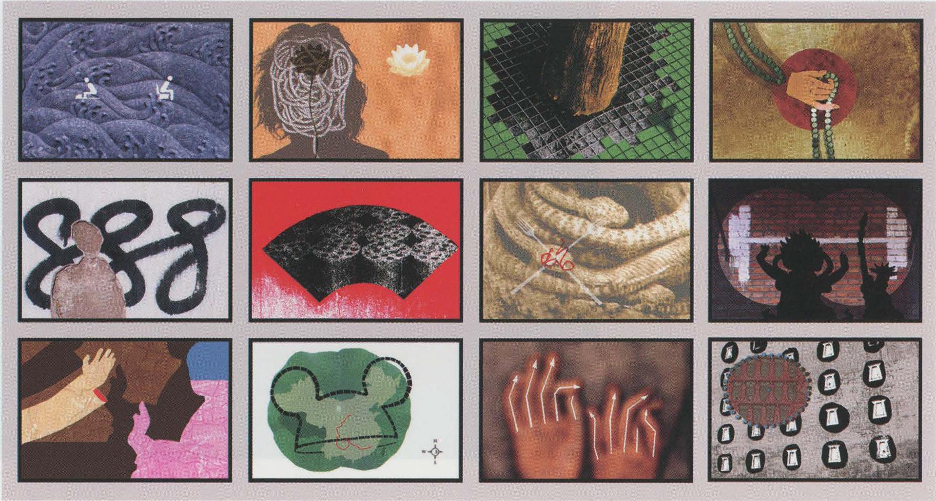 ©2007, Kent Manske, West Meets East: Artworks based on a journey to China