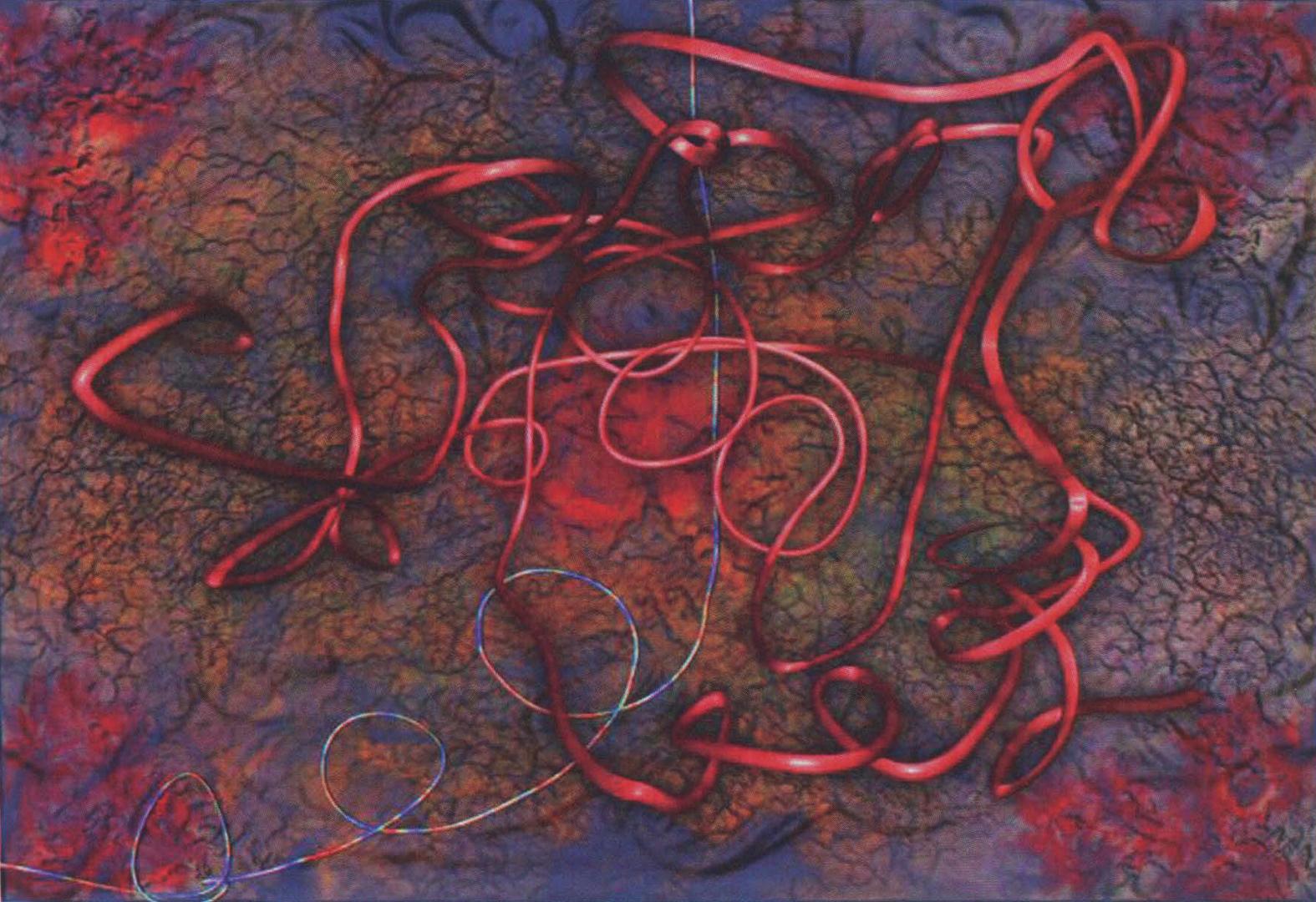 ©2005, Vivek Patel, Black Lines Dancing