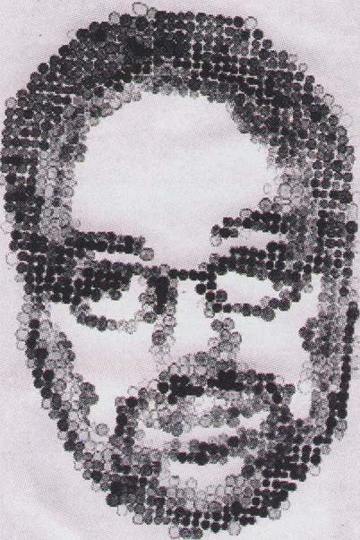 ©2003, Jared Bendis, Pixel Portrait