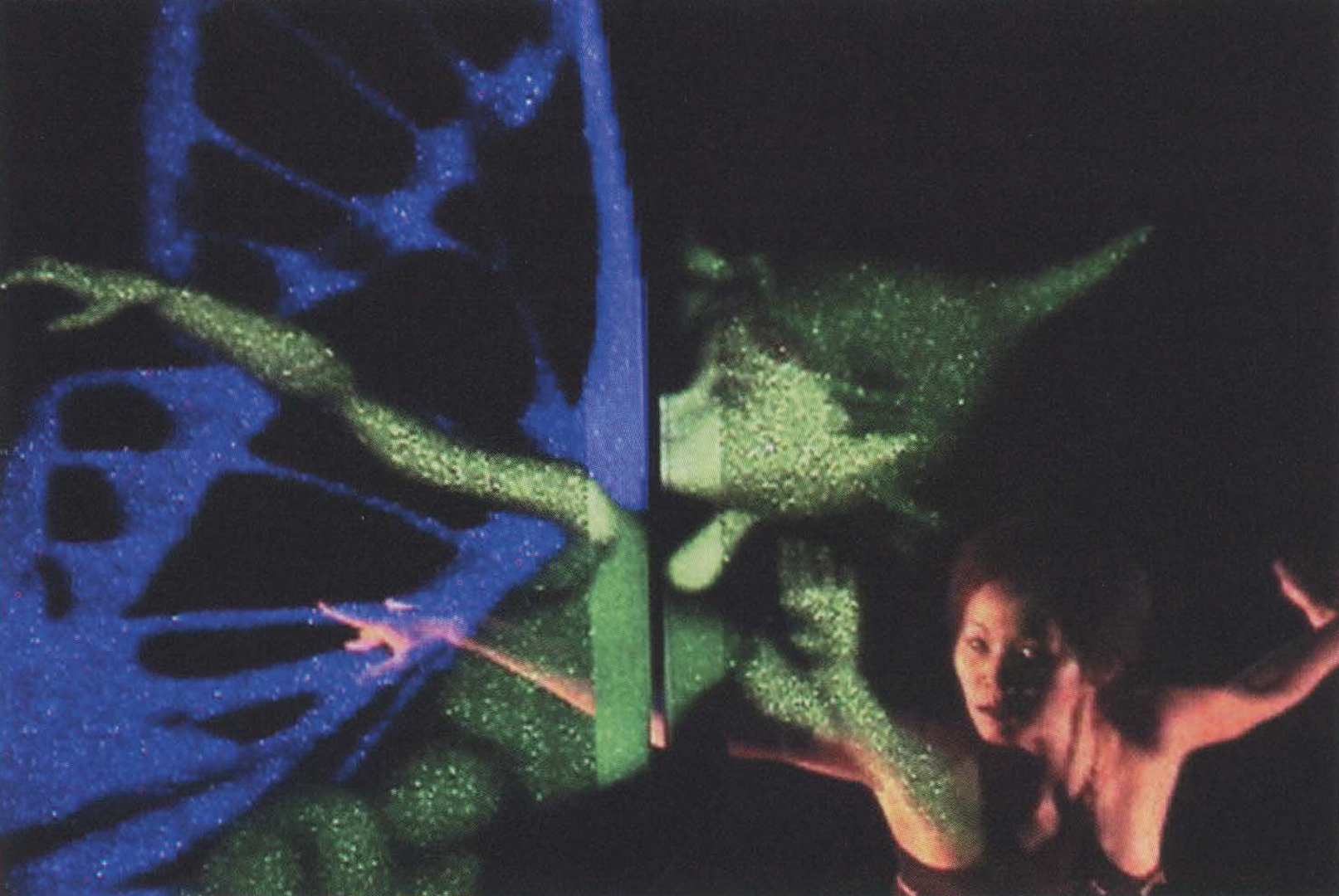 ©2003, Yu Hasegawa-Johnson, Hank Kaczmarski, Lance Chong, and Benjamin Schaeffer, Hummingbird: Multi-Reality Art