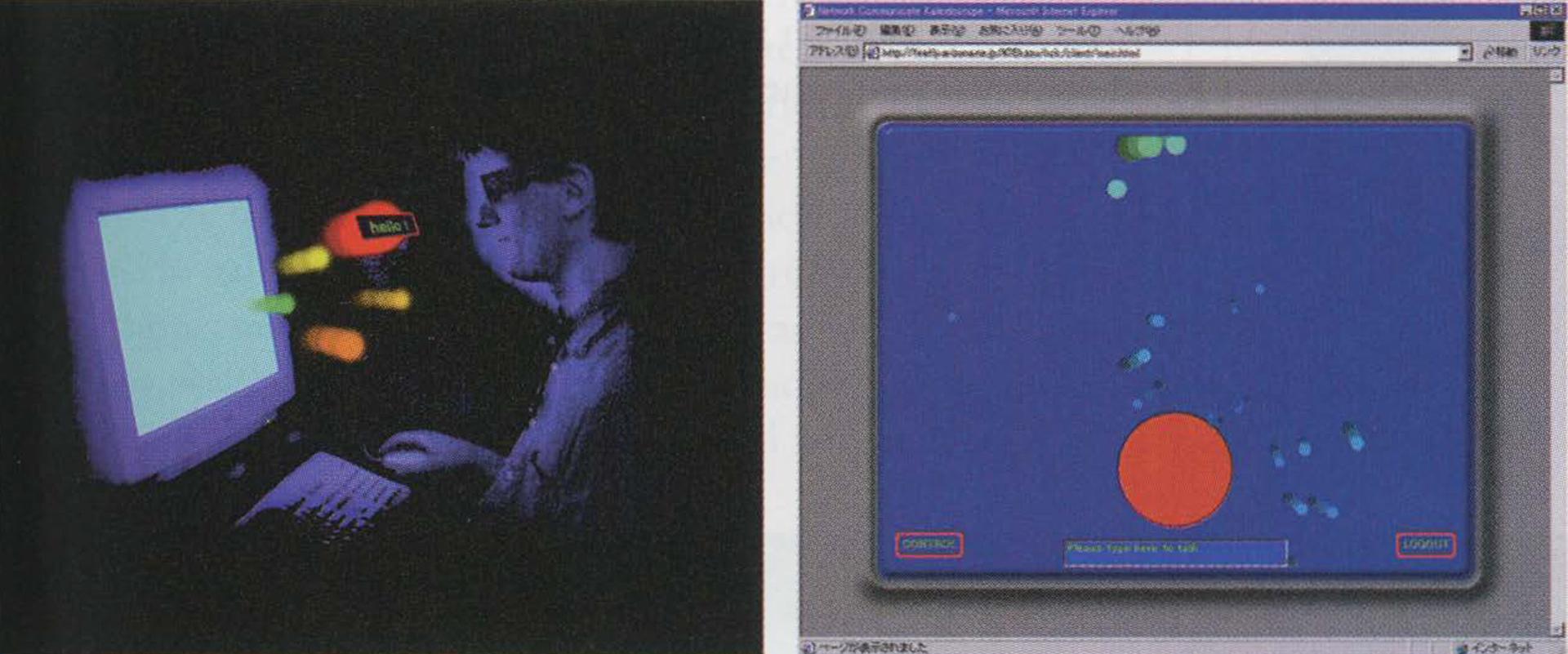 ©2001, Kazushi Mukaiyama, Network Communicate Kaleidoscope