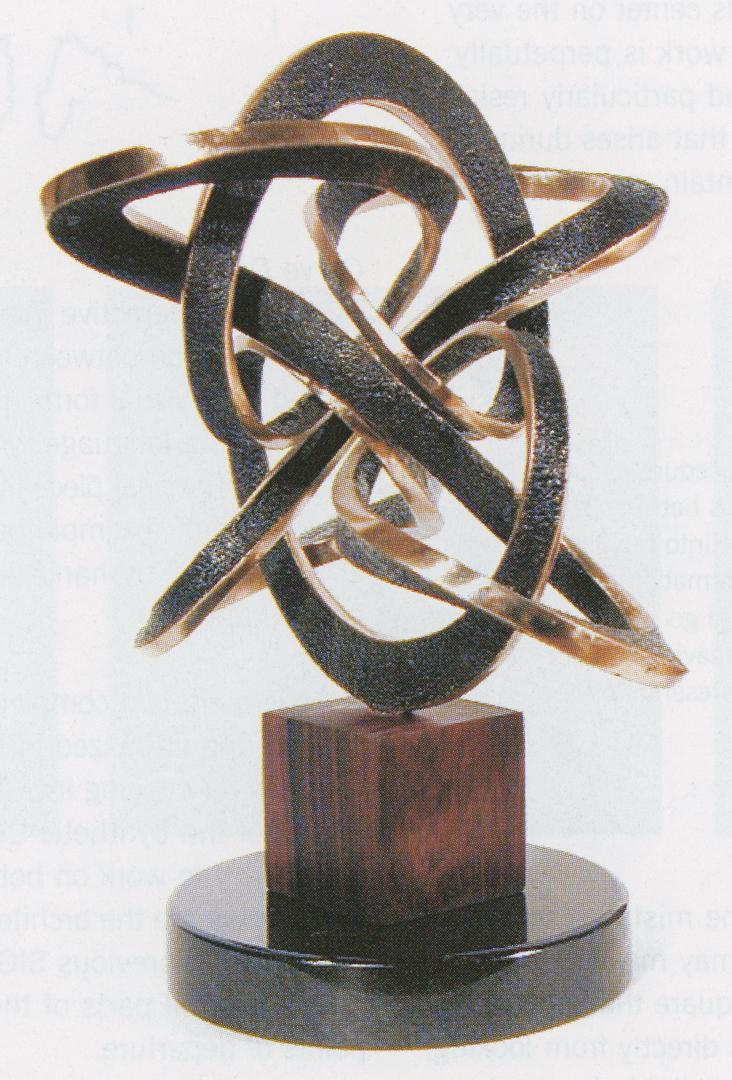 ©2002, Bathsheba Grossman, Flow Bronze