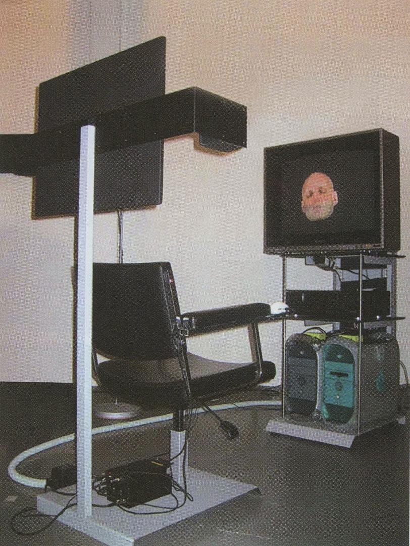 ©2002, Jan Torpus and Michel Durieux, affectiveCinema installation
