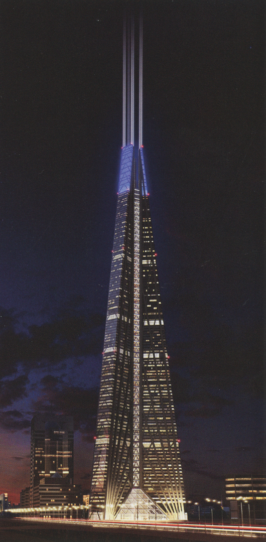 ©2008, Foster + Partners, Russia Tower