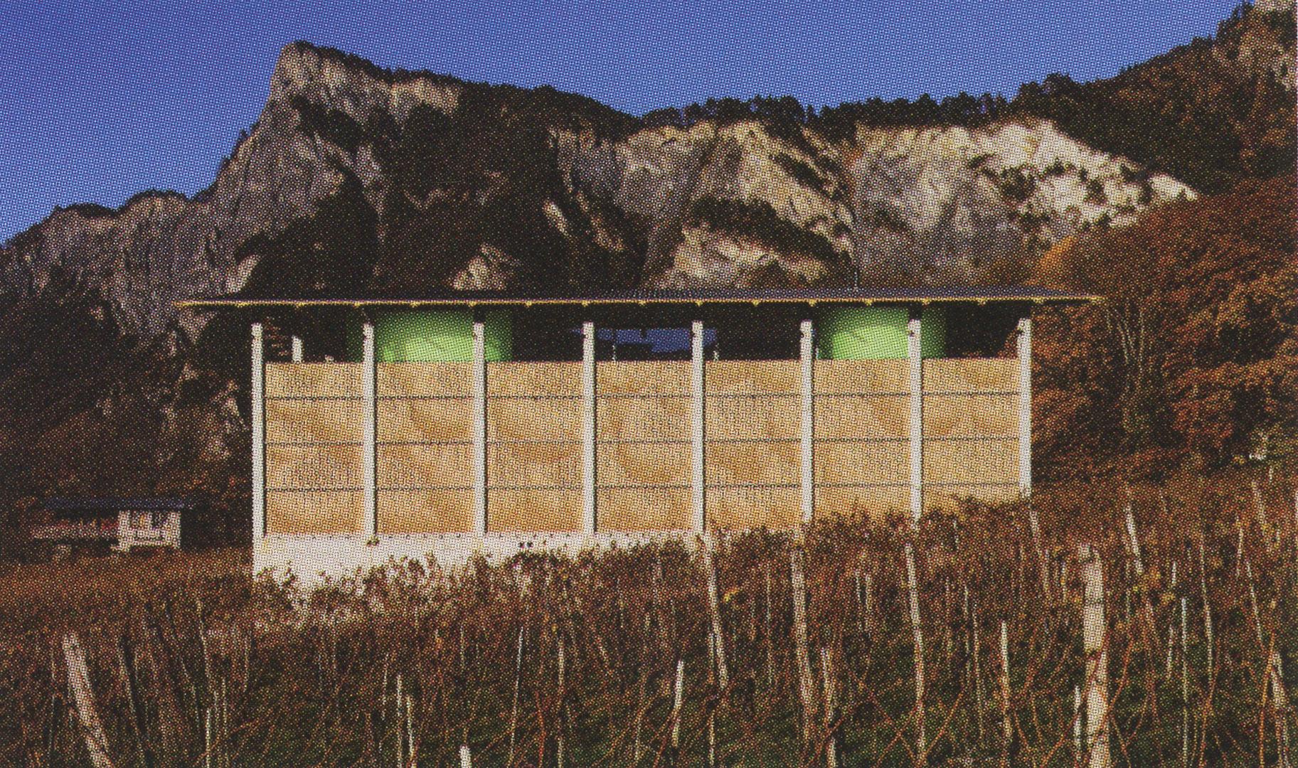 ©2008, Tobias Bonwetsch, Gantenbein Vineyard Façade, Fläsch