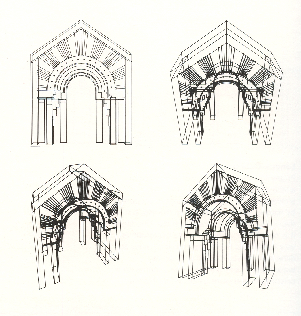 ©, Charles W. Moore, Ralph Knowles, John Heile, and Graduate School of Architecture and Urban Planning - UCLA, Arched Doorway