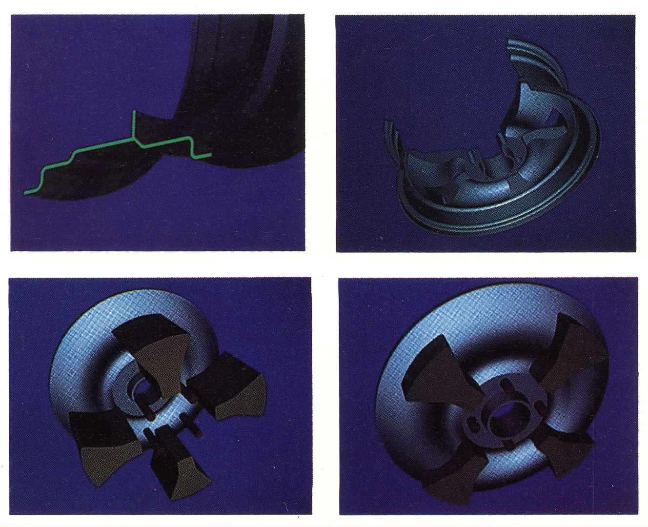 ©, PDA Engineering and C. Hayden Hamilton, Aluminum Wheel Modeling