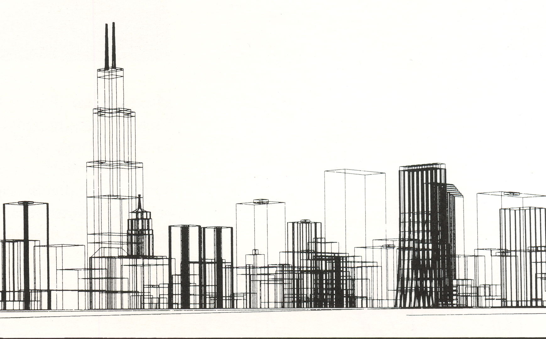 ©, Skidmore, Owings and Merrill, Chicago Skyline