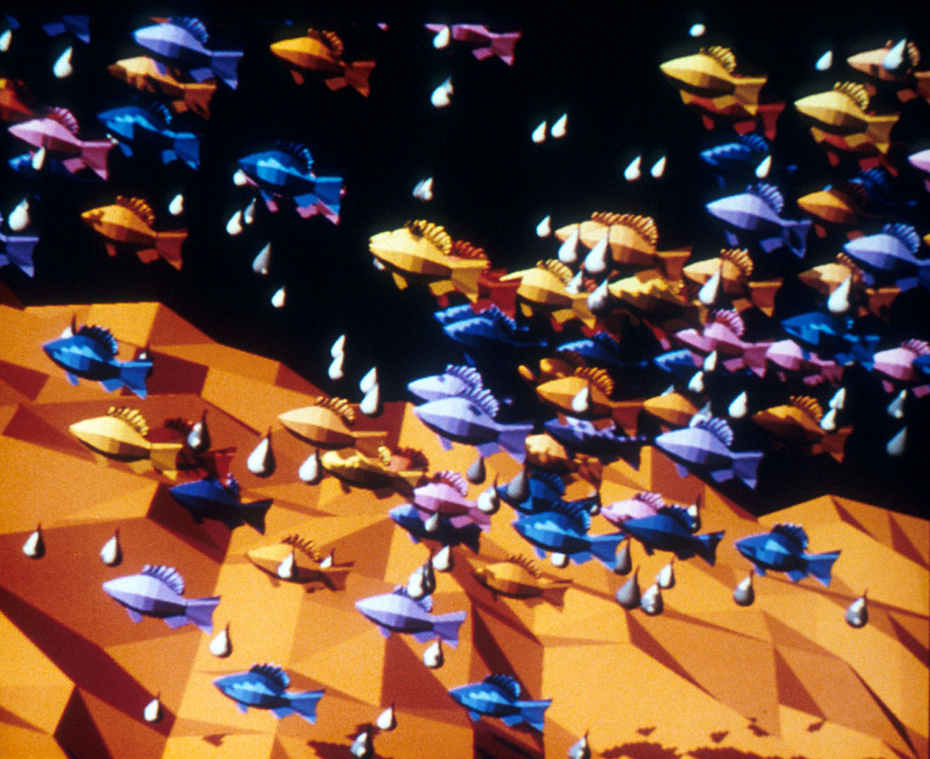©1985, Vibeke Sorensen, Microfishe