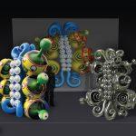 Bucco–Multi-Dimensional Butterflies Installation