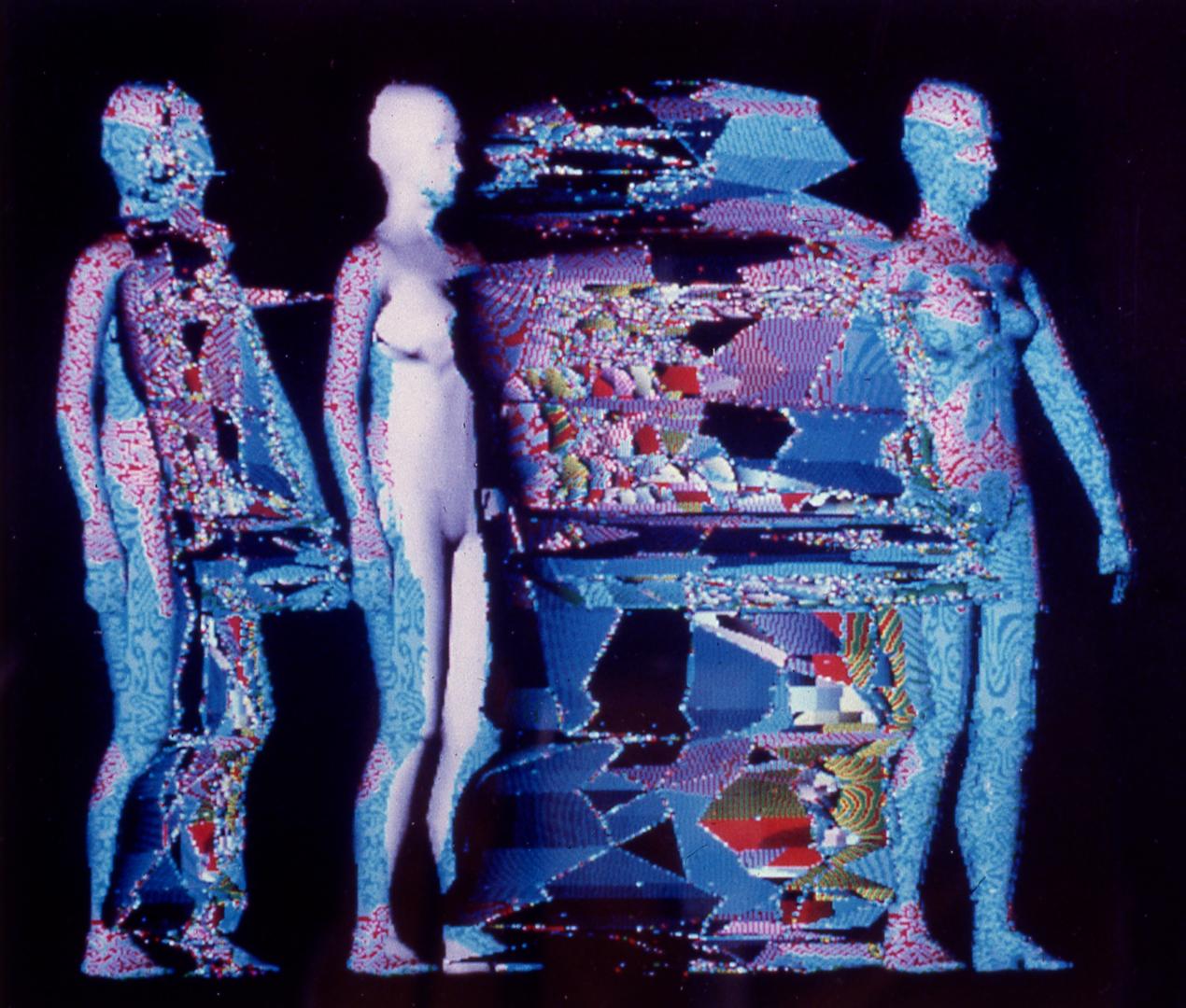 ©1981, Duane M. Palyka, #22 Picasso 2