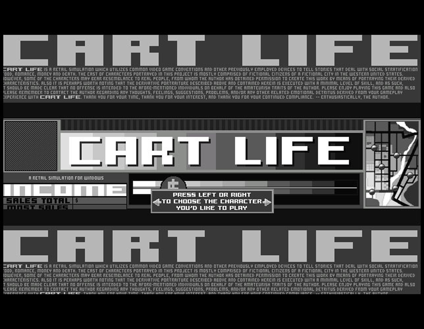 ©, Richard Hofmeier, Cart Life