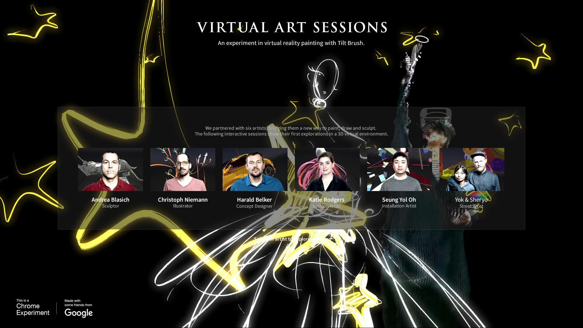 ©, Google Data Arts Team, Virtual Art Sessions
