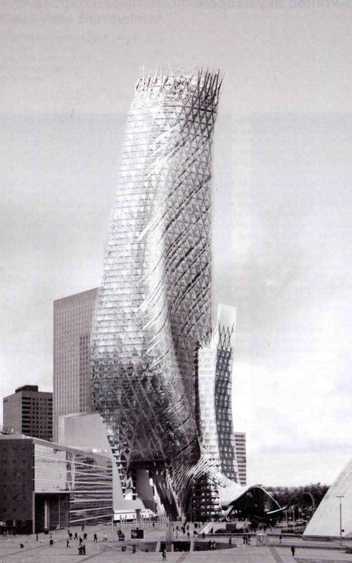 ©2008, Marty Doscher and Satoru Sugihara, Phare Tower, La Défense