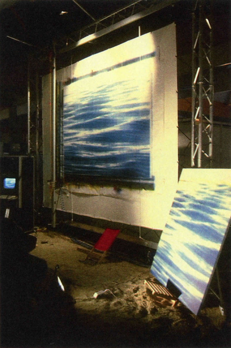 ©1995, Jean Paul Longavesne, Live Painting Creation (by the use of networks)