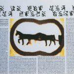 Horse Text Piece