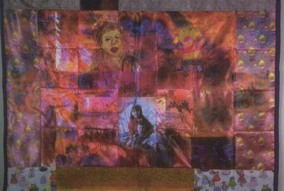 1997 Farber The Doll Floated by (Quilt for Flight 800)