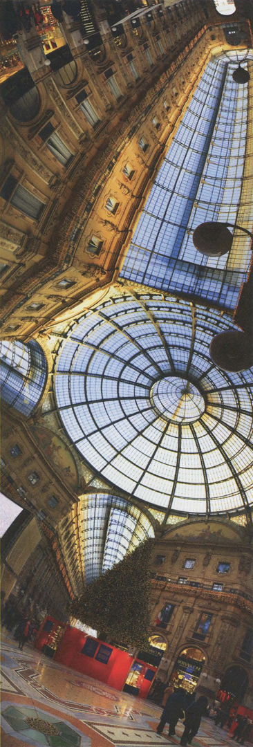 ©, Murat Germen, Reading the Space as an Entity - Galleria Vittorio Emanuele, Milan, Italy