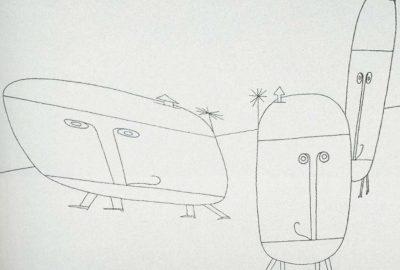 1963 Csuri After Paul Klee