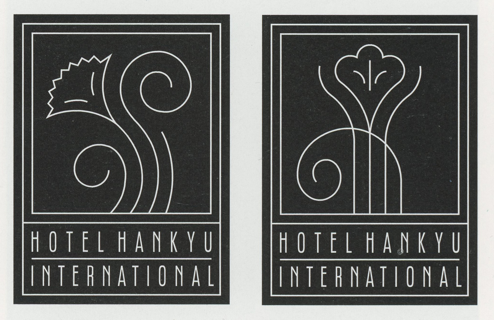 ©, Pentagram, Hotel Hankyu International