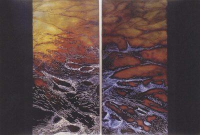 2003 Schminke: Mayne (Diptych)