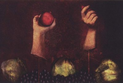 2003 Vance: Still Life with Hands