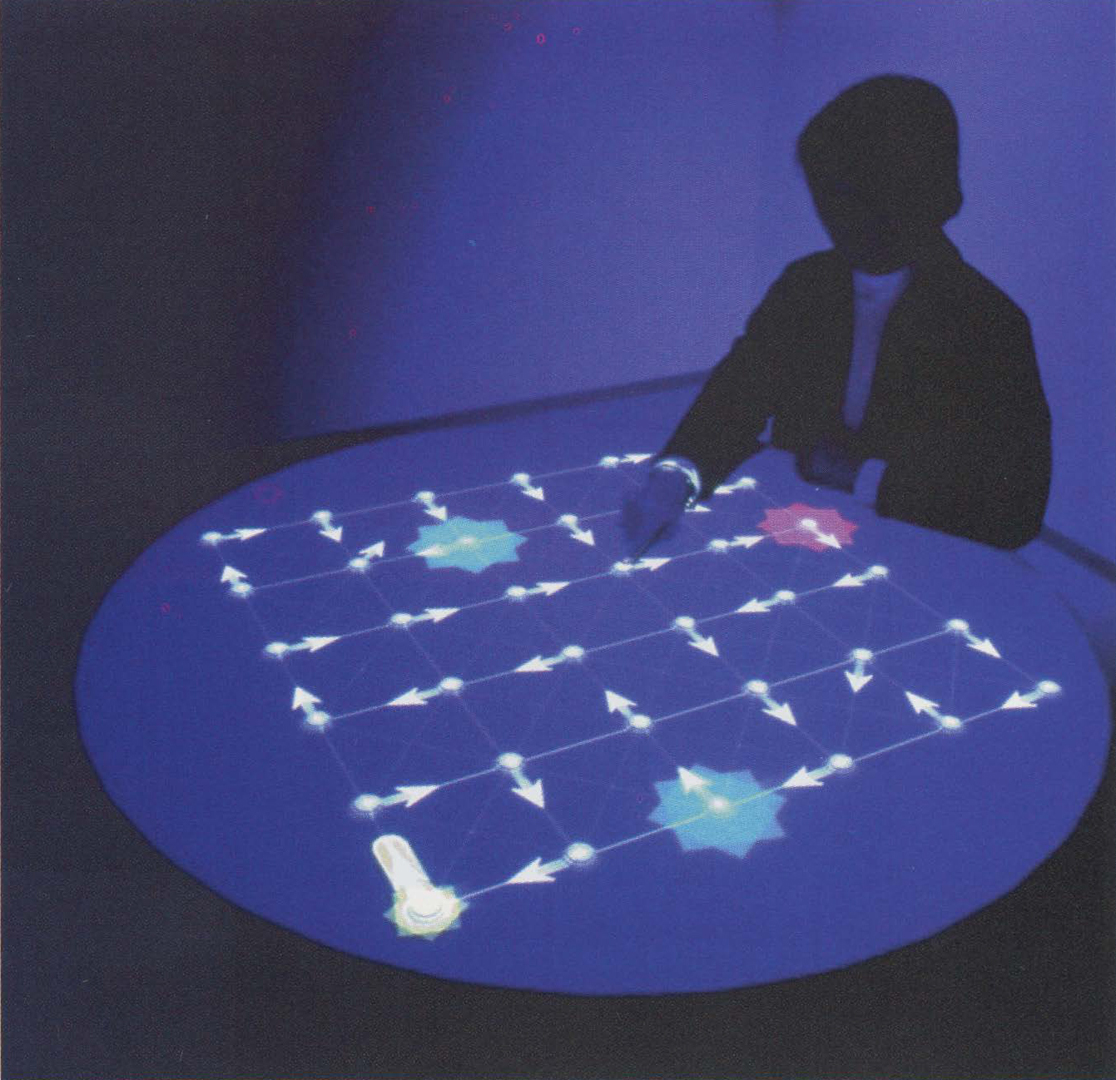 ©1999, Toshio Iwai, Composition on the Table