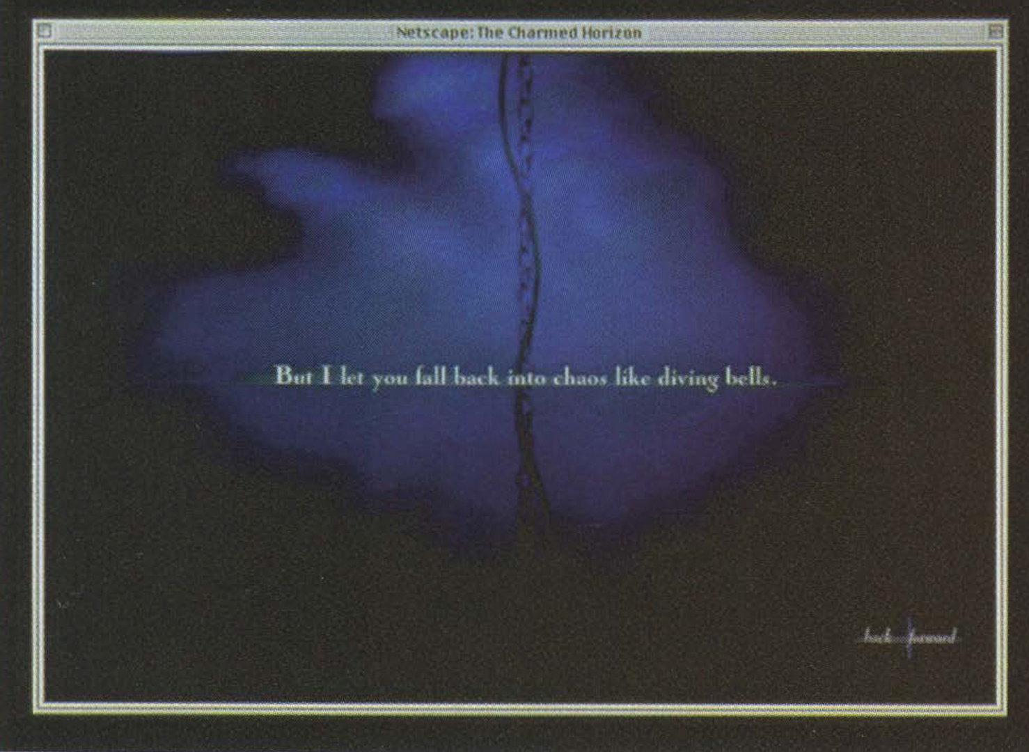©1999, Kim Stringfellow, The Charmed Horizon