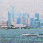 Webcam Art: The Hudson River