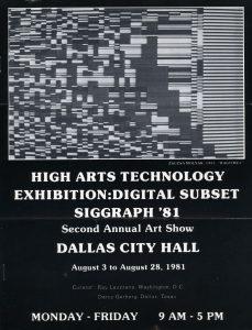 1981_Info_HighArtsTechnology_poster
