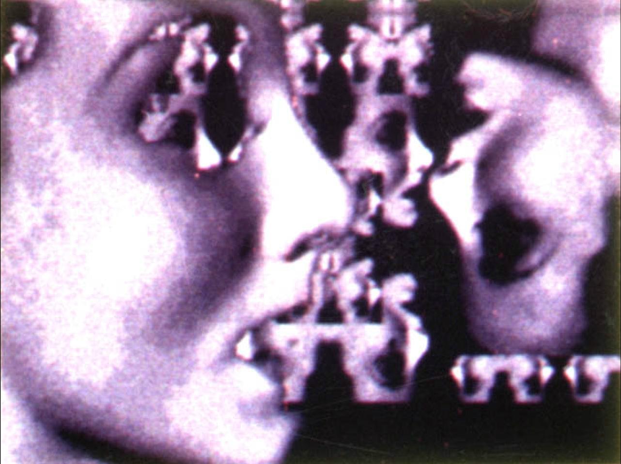 ©1982, Bill Etra, Reflections #3