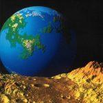 Fractal Planetrise According to Benoit Mandelbrot
