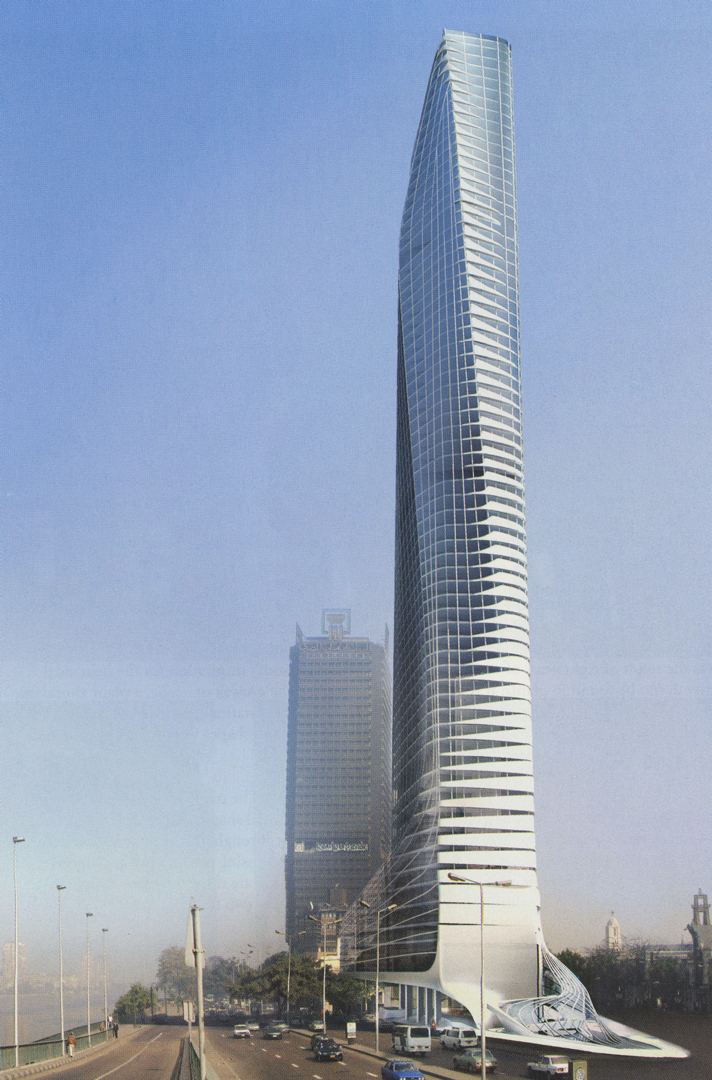 ©2008, Nils Fischer and Shajay Bhooshan, Cairo Tower