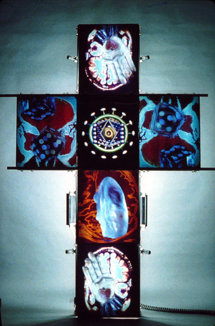 ©1987, (art)n Laboratory, Randy Johnson, Daniel J. Sandin, Ellen Sandor, and Jim Zanzi, Messiah