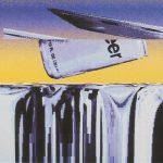 Beerplane Flying Over an Iced Beer Landscape