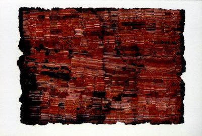 1987 Stewart Red Landscape