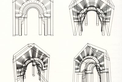 1984 Moore, Knowles, and Heile: Arched Doorway 1