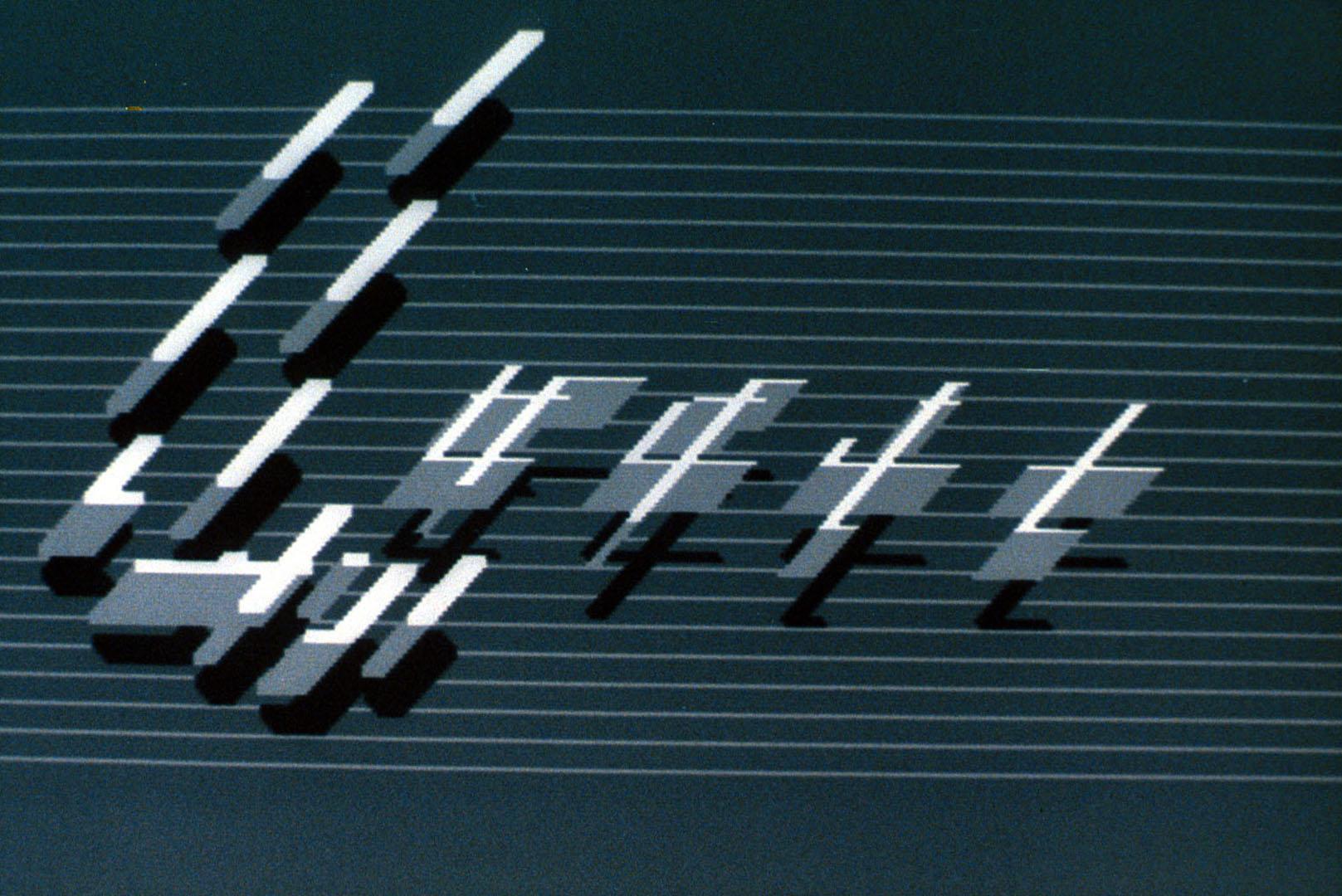 ©1985, Larry Cuba, Calculated Movements