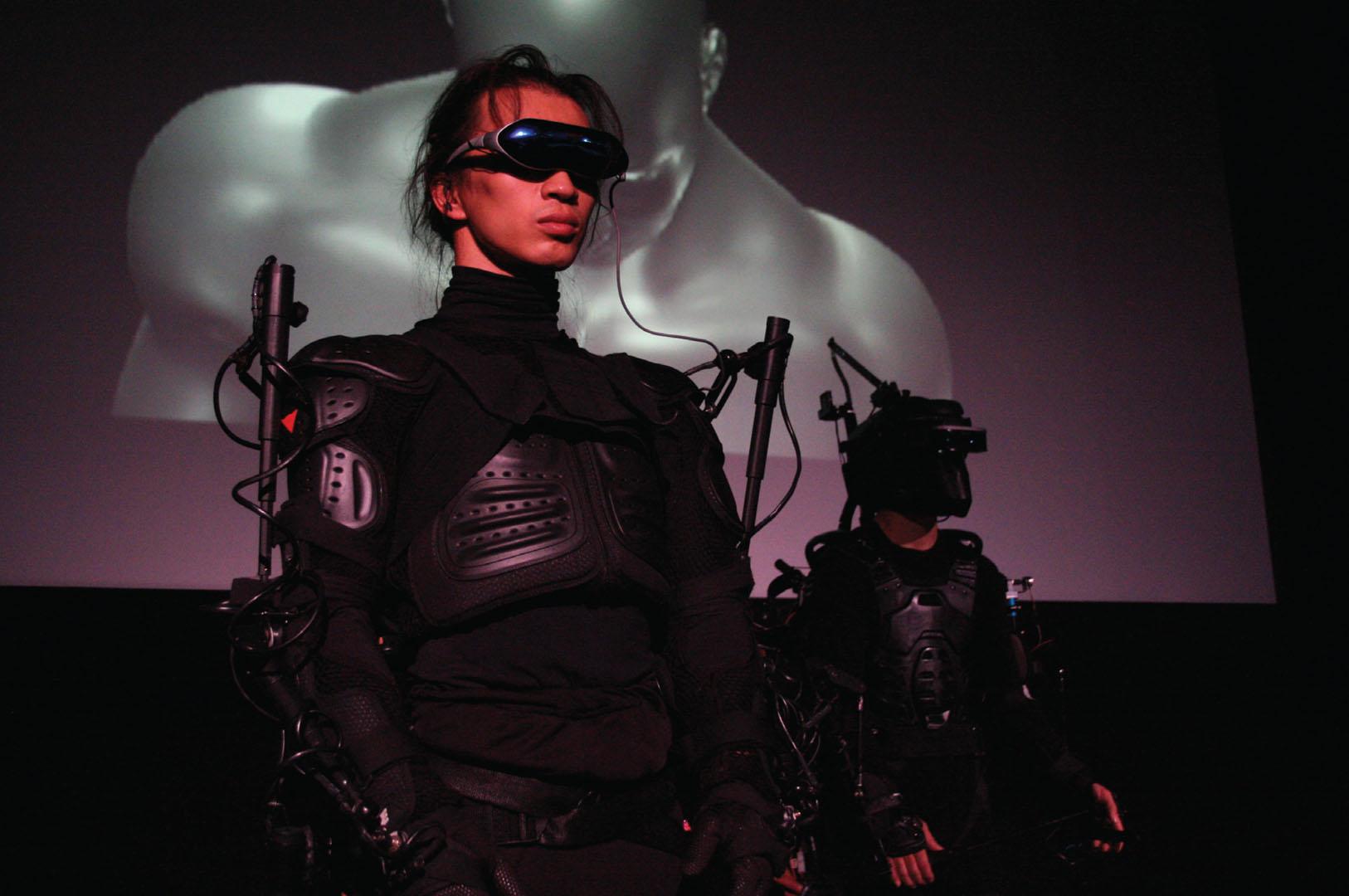 ©, Suguru Goto, netBody: Augmented Body and Virtual Body II