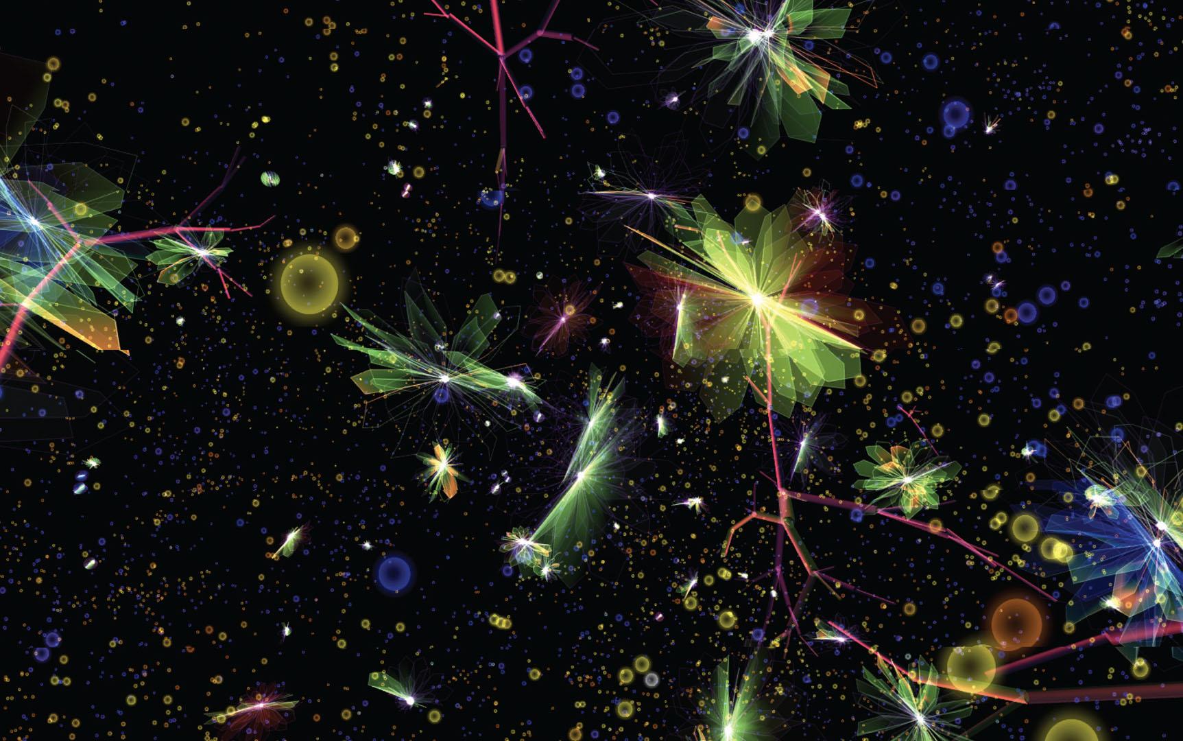 ©, Haru (Hyunkyung) Ji and Graham Wakefield, Artificial Nature: Fluid Space