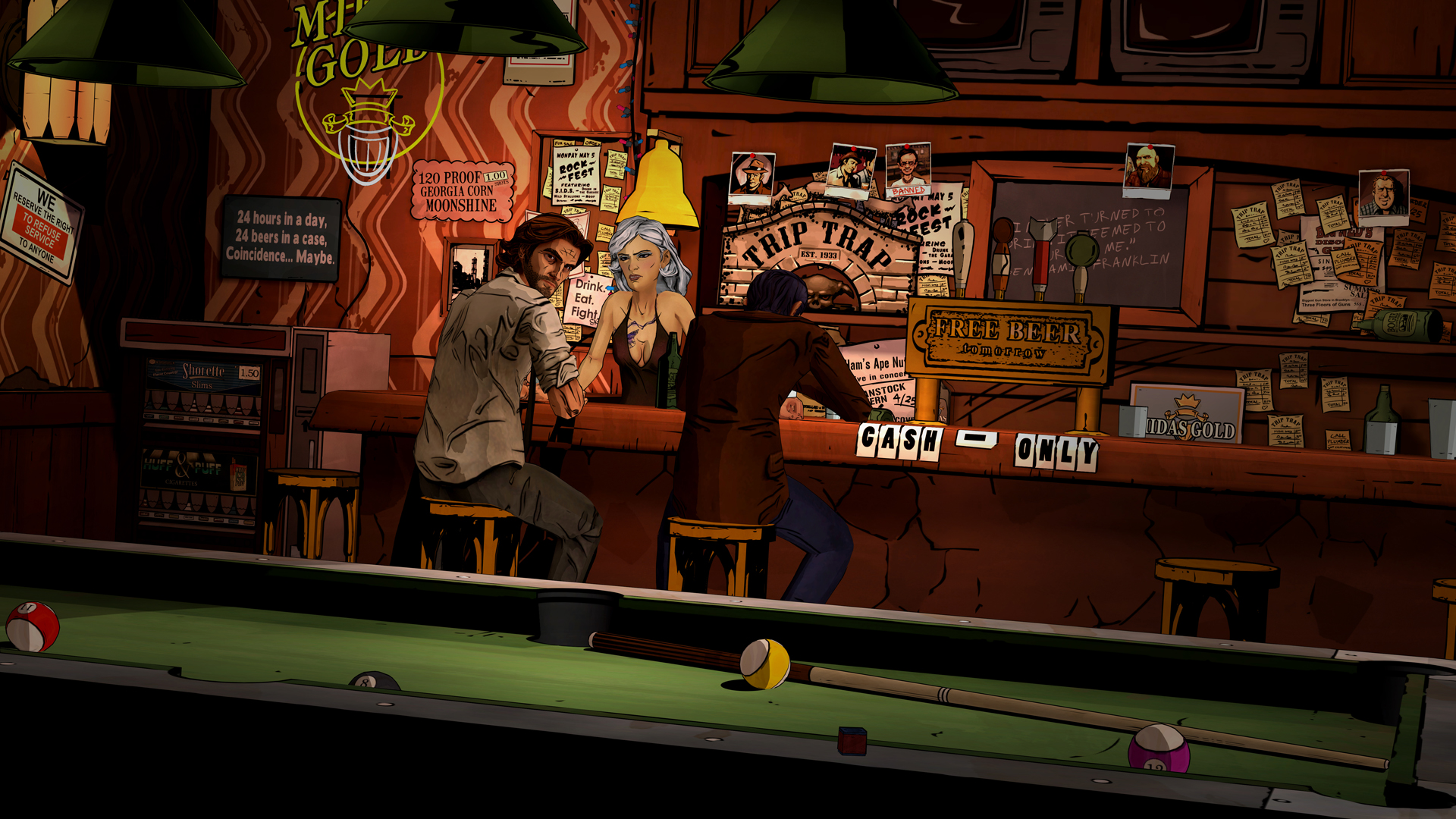 ©, Telltale Games, The Wolf Among Us